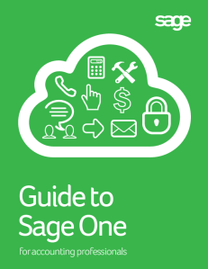 Guide to Sage One for accounting professionals